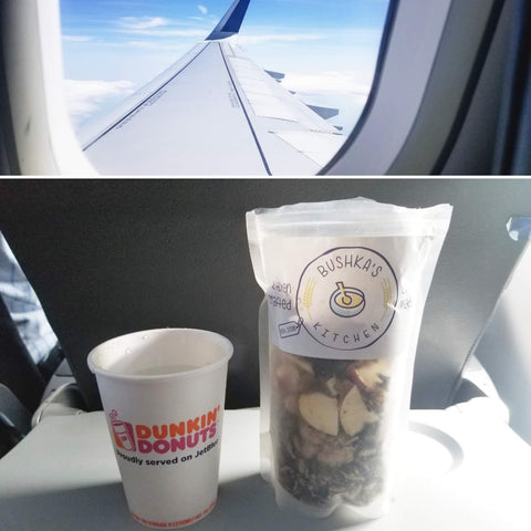 alternative freeze-dried food for travel