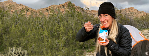 freeze dried food for camping adventures
