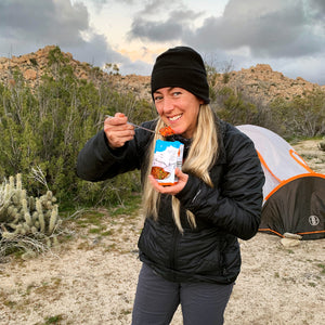 freeze dried food for the wilderness