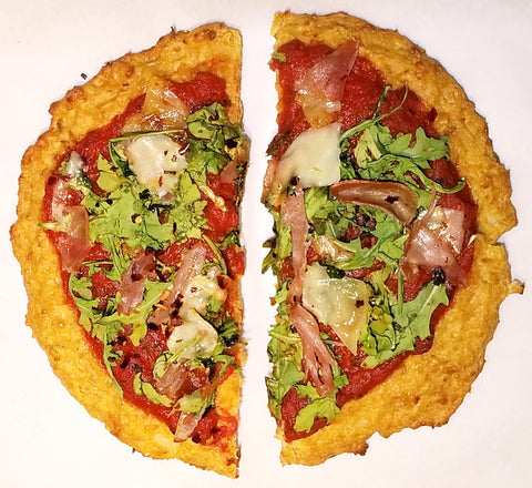 freeze-dried healthy pizza