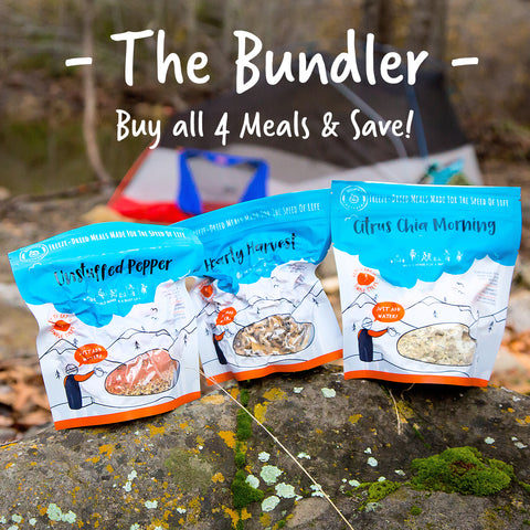 Freeze Dried Food Bundle for Backpacking and Outdoor Adventures