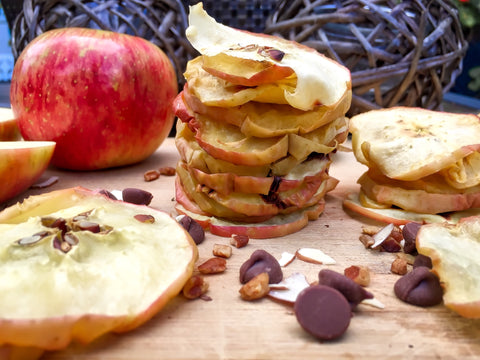 dehydrated apple snack