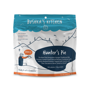 bushka's kitchen freeze dried hunter's pie with ground venison