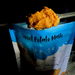 freeze dried sweet potato mash vegan