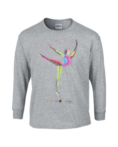 Children - Ballet Dancer - Long Sleeve T-Shirt