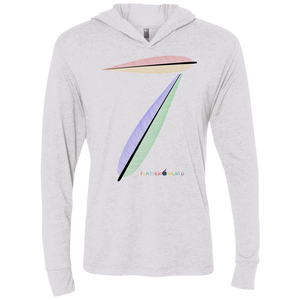 FEATHER NUMBER 7 Hooded T-Shirt