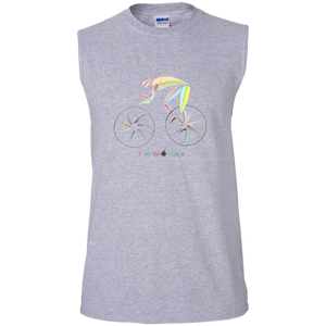 ADULT - Bicycle - Sleeveless Shirt