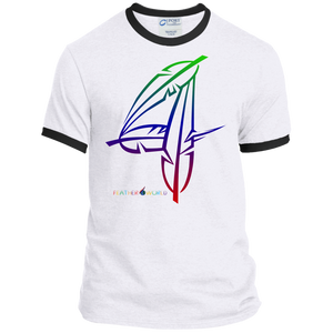Feather Number 4 Short Sleeve T-shirt