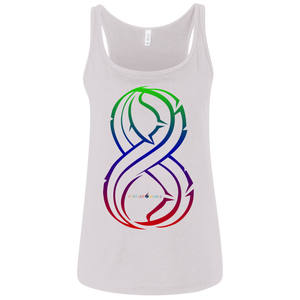 Feather 8 Canvas Ladies' Relaxed Jersey Tank