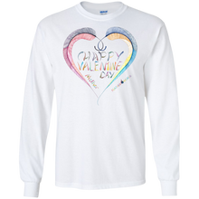 ADULT - Happy Valentine Mother Long Sleeve  T-Shirt