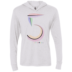 FEATHER NUMBER 5 Hooded T-Shirt