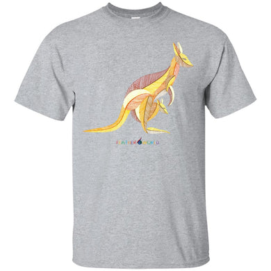 ADULT - Kangaroo -Short Sleeve Unisex  T-shirt