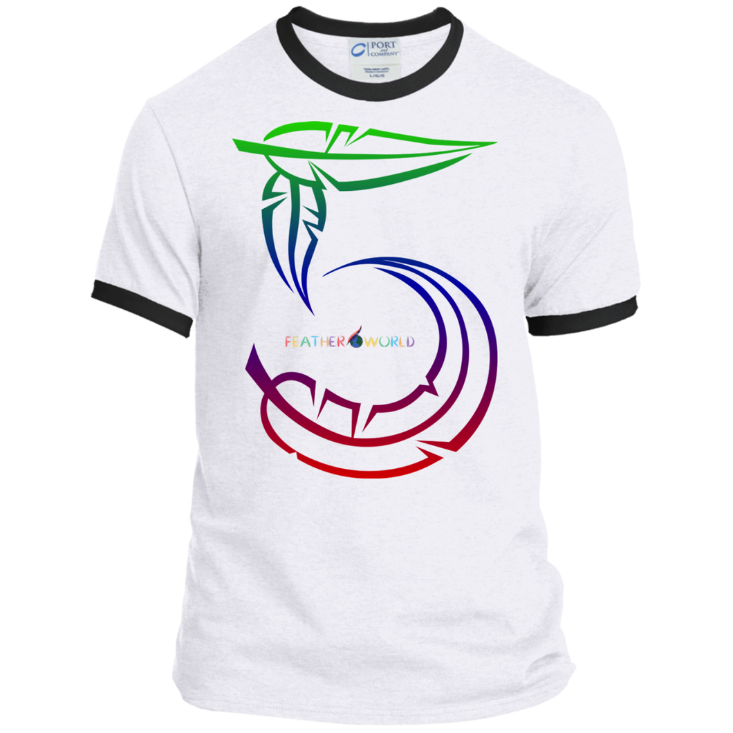 Feather Number 5 Short Sleeve T-shirt