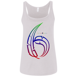 Number 6  6488 Bella + Canvas Ladies' Relaxed Jersey Tank