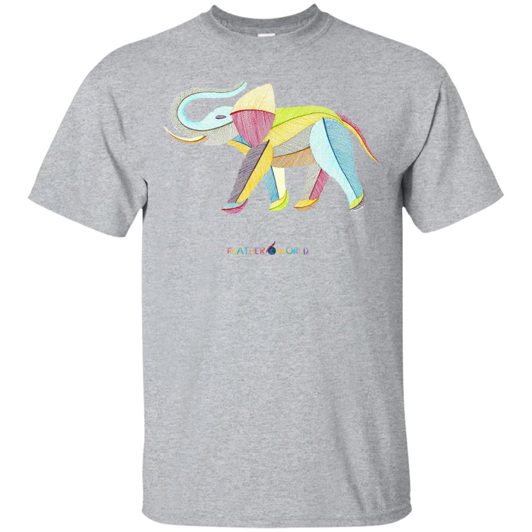 ADULT - Elephant - Short Sleeve Unisex T-shirt
