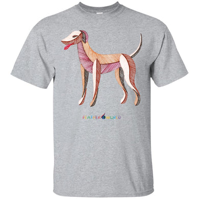 ADULT - Dog - Short Sleeve Unisex T-shirt