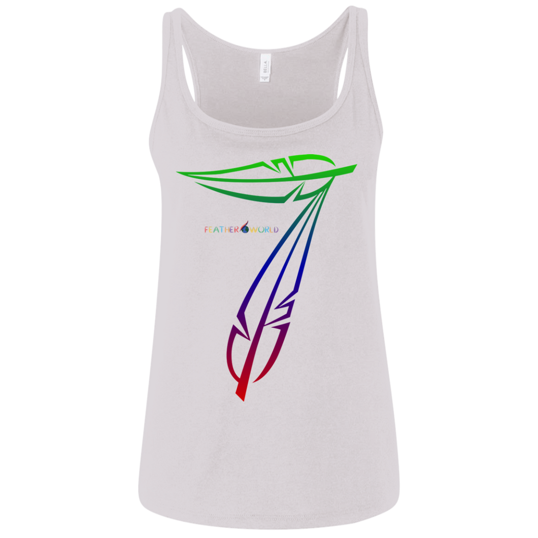 Feather-7 Canvas Ladies' Relaxed Jersey Tank
