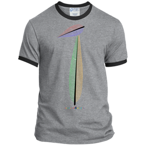 FEATHER NUMBER 1 Ringer Tee