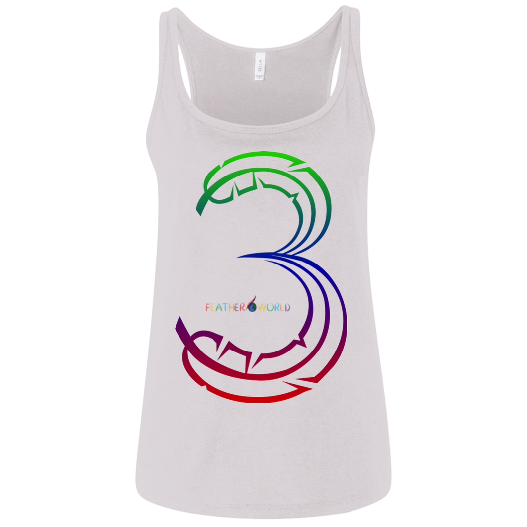 Number 3-Canvas Ladies' Jersey Tank