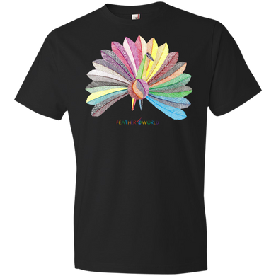 Children - Peacock - Short Sleeve T-shirt