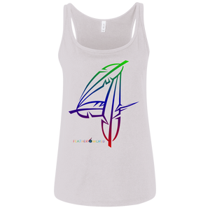 Number 4-Canvas Ladies' Jersey Tank
