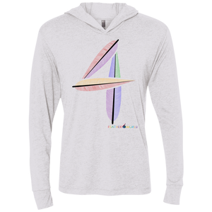 FEATHER NUMBER 4 Hooded Long Sleeve T-Shirt