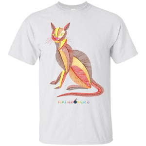 ADULT - Colorful Cat - Short Sleeve Unisex