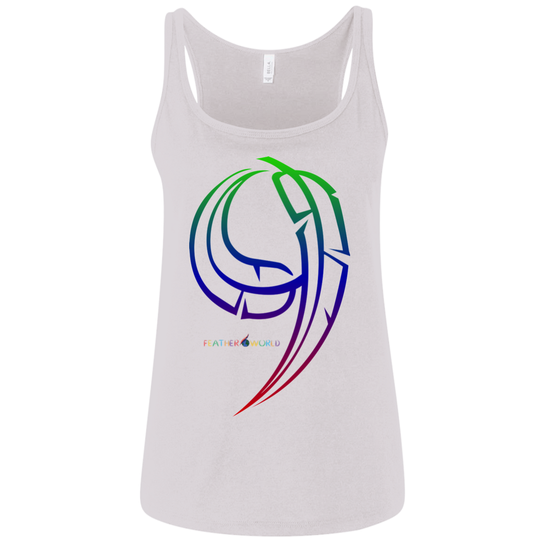Number-9 Canvas Ladies' Relaxed Jersey Tank
