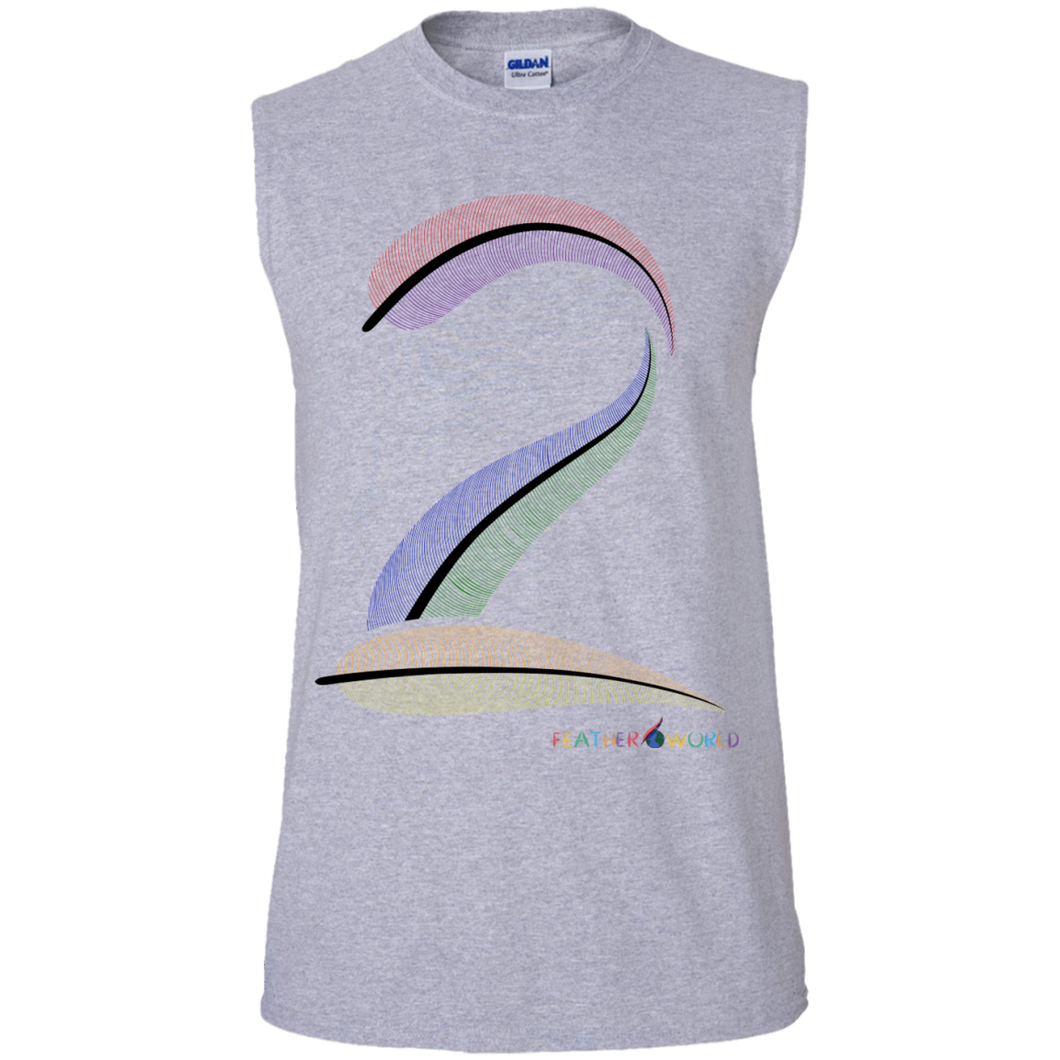 FEATHER NUMBER 2  Sleeveless T-Shirt