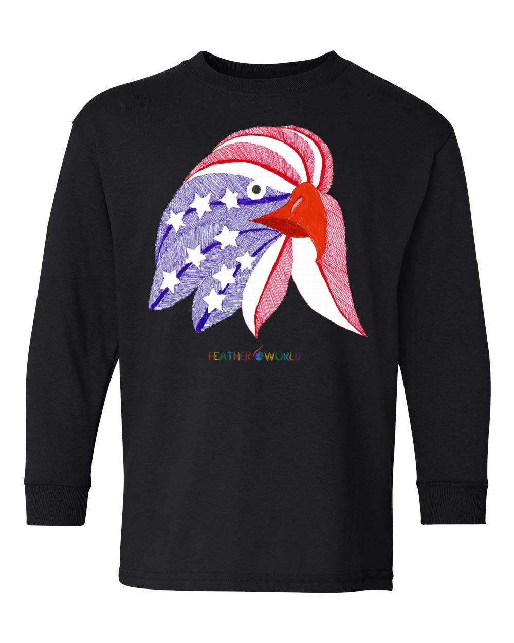 Children - American Eagle - Long Sleeve T-Shirt