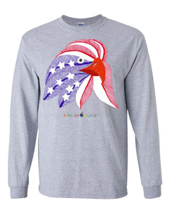 ADULT - American Eagle - Long Sleeve Unisex