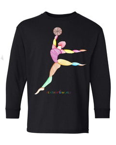 Children - Basketball Player - Long Sleeve T-Shirt