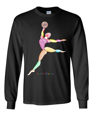 ADULT - Basketball Player - Long Sleeve Unisex T-shirt