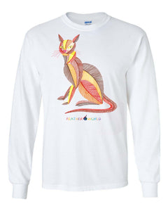 ADULT - Colorful Cat - Long Sleeve Unisex T-shirt