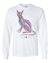 Children - Colorful Cat 2 - Long Sleeve T-Shirt
