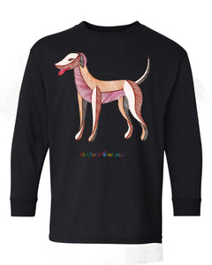 Children - Dog - Long Sleeve T-Shirt
