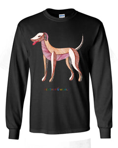 ADULT - Dog - Long Sleeve Unisex T-shirt