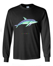 ADULT- Dolphin - Long Sleeve Unisex  T-shirt