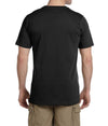 Short Sleeve Fitted Tee - Black