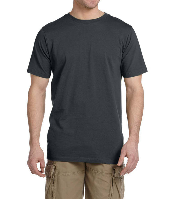 Short Sleeve Fitted Tee - Charcoal