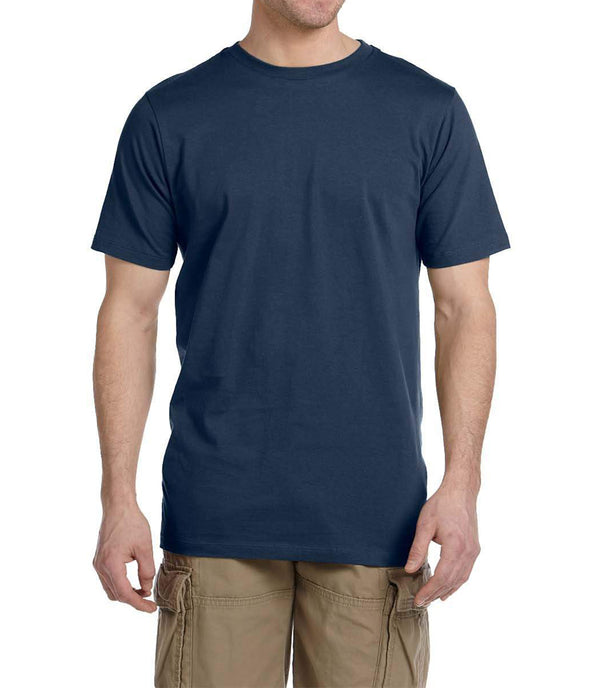 Short Sleeve Fitted Tee - Navy