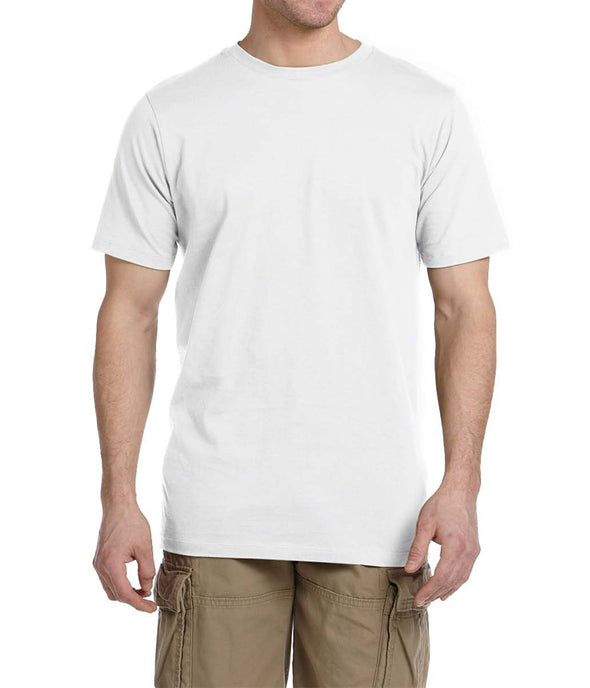 Short Sleeve Fitted Tee - White