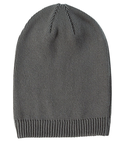 Slouchy Beanie - Charcoal