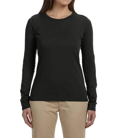 Women's Long Sleeve Tee - Black