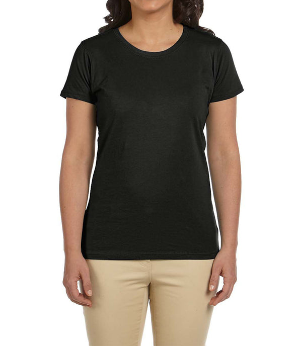 Women's Short Sleeve Tee - Black
