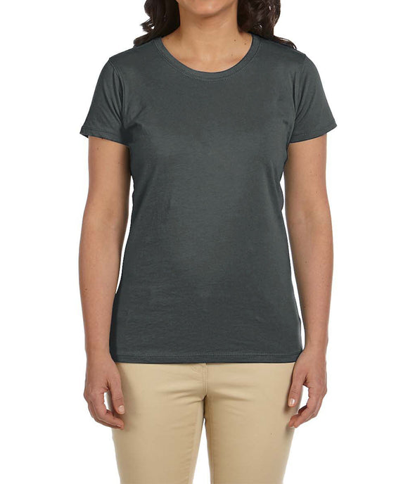 Women's Short Sleeve Tee - Charcoal
