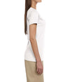 Women's Short Sleeve V-Neck Tee - White