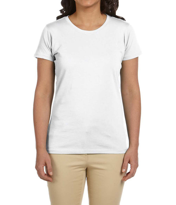 Women's Short Sleeve Tee - White