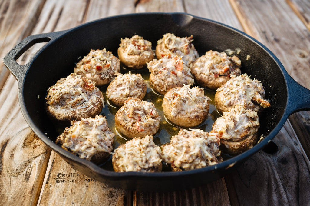 Blazin' Bites - Stuffed Mushrooms