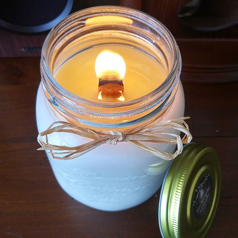 Country Cottage Jar 550ml - Woodwick Soy Candles by Pure Tranquility Candles - Pure Tranquility Candles